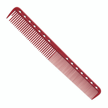 YS Park 339 Signature Cutting Comb - Red