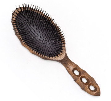 YS Park Soft Cushion Tortoise Hairbrush - Pure Boar