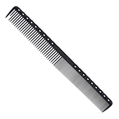 YS Park 331 Super Long Cutting Comb - Carbon Black