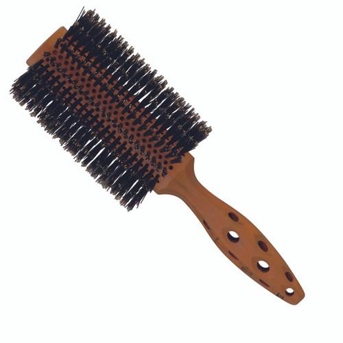 YS Park Jumbo Daruma Hairbrush (YS-80DA1)