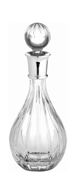 Crystal & Sterling Linear Decanter