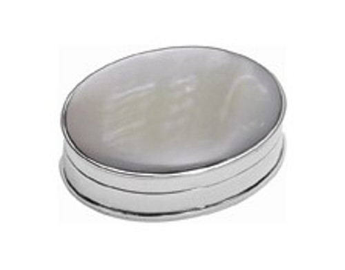 Sterling & Mother of Pearl Pillbox