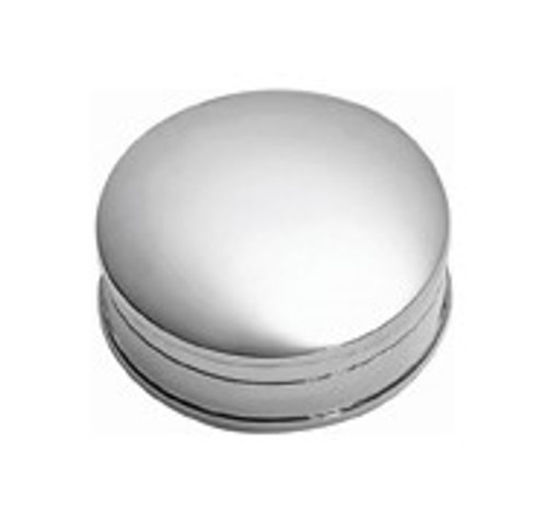 Sterling Round Pillbox