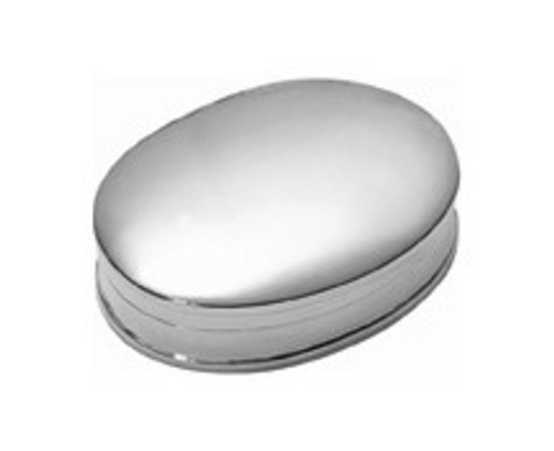 Sterling Oval Pillbox