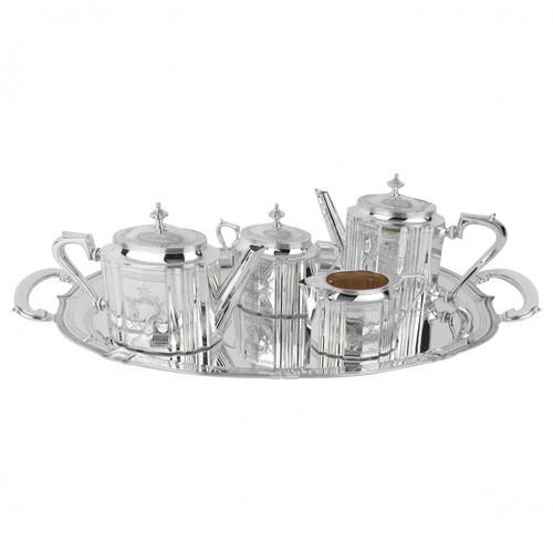 Old English-Style Tea & Coffee Service in Stelring Full Set