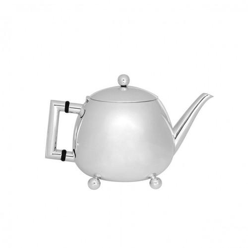 Retro Teapot in Silverplate
