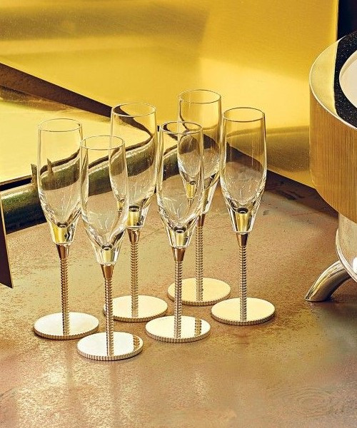 Bead Champagne Flute