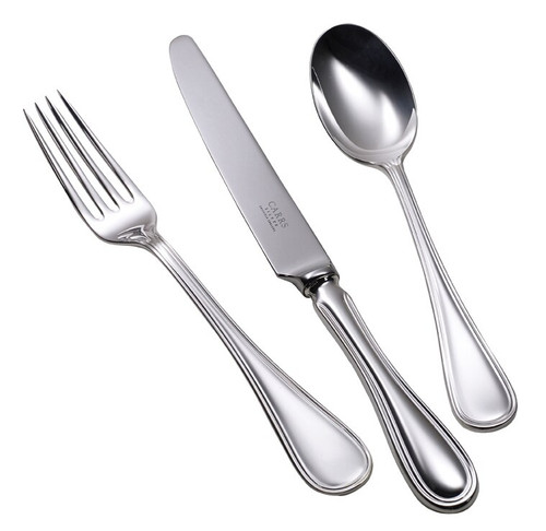 English Thread Serving Collection in Stainless Steel