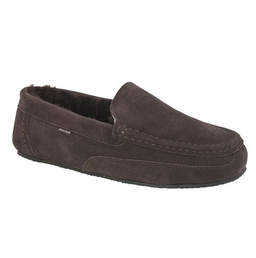 "Draper Slipper ""Hugo"" in Brown"