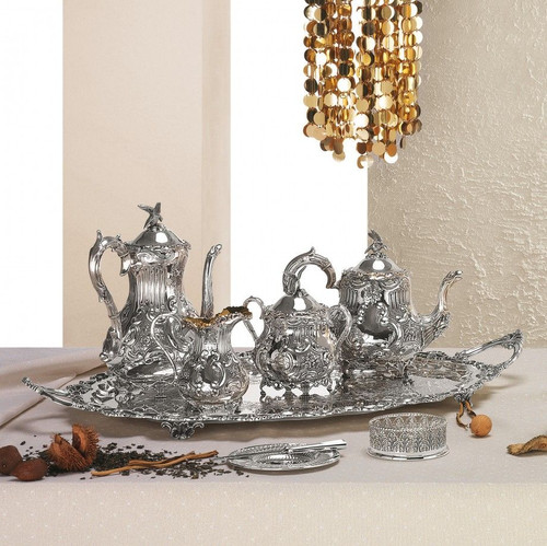 Corbell Tea & Coffee Service Collection in Sterling