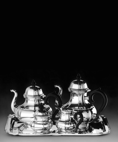 Alt-Augsburg Tea & Coffee Service Collection in Sterling
