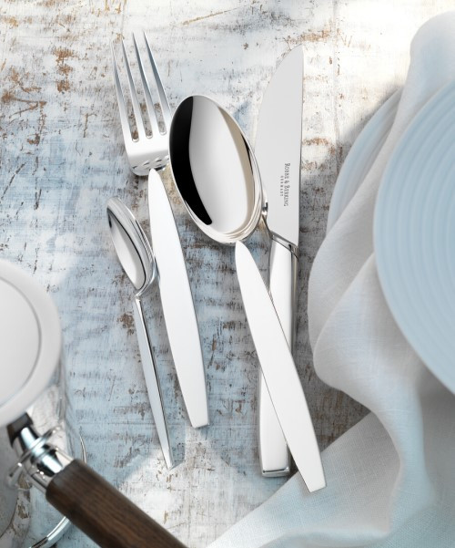 '12' Cutlery Collection in Sterling
