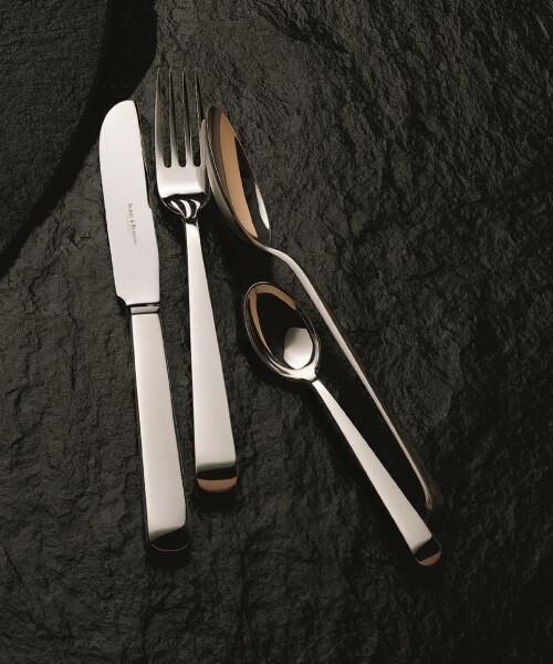 Alta Cutlery Collection in Silverplate