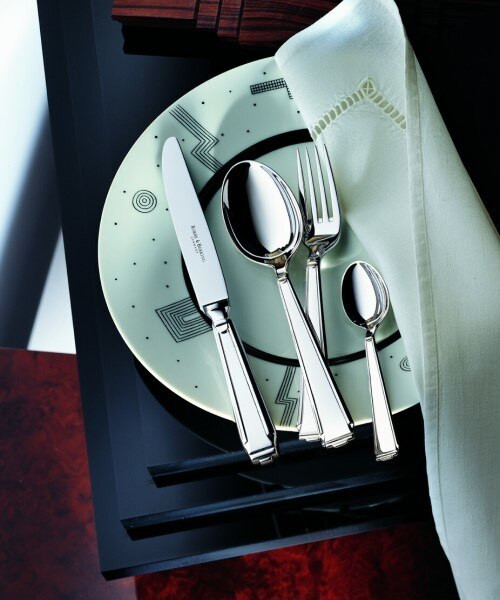 Art Deco Cutlery Collection in Silverplate