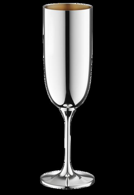 Dante Champagne Flute (Gold Interior)