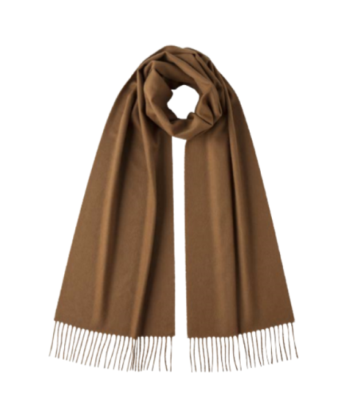 Pure Vicuna Scarf in Natural, Undyed Wool