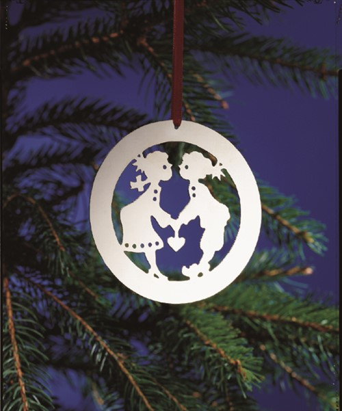 Children with Heart Ornament