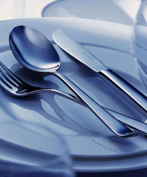 Atlantic Cutlery Collection in Stainless Steel (Brushed)