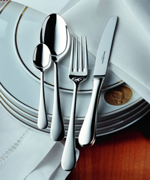 Como Cutlery Collection in Stainless Steel