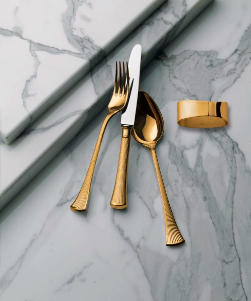 Avenue Cutlery Collection in Vermeil (Full)