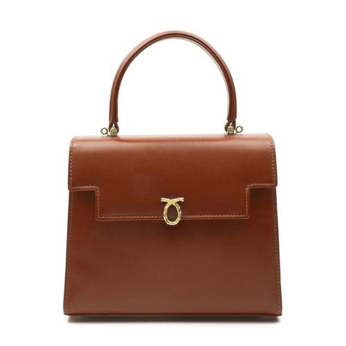 Juliet Handbag, British Tan/Chocolate