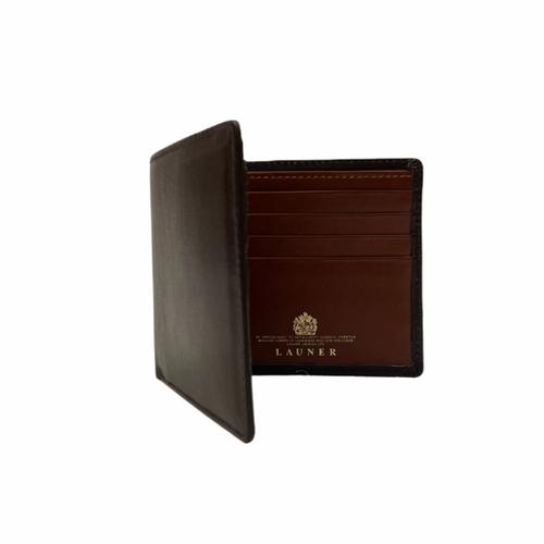 Launer Eight Credit Card Wallet, Brown/Tan