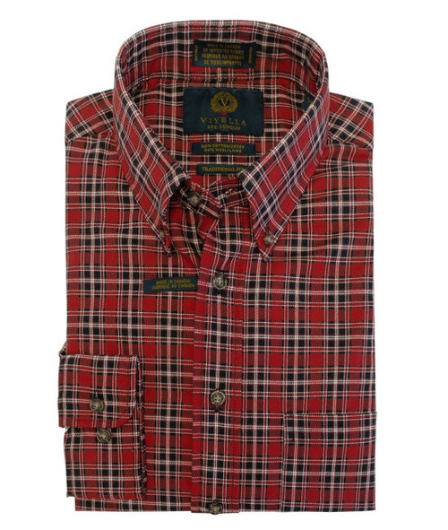 Viyella Check in Red