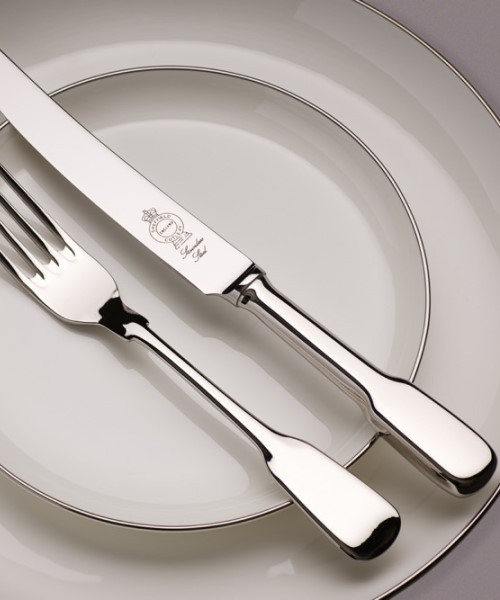 Plain Fiddle Stainless Steel Serving Collection Collection
