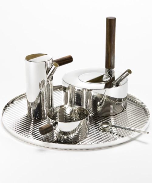 Contemporary Tea Service by Tomás Alonso