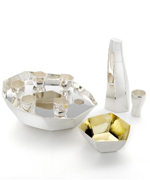 """IKRA-ICE"" Caviar Set by Thomas Bastide"
