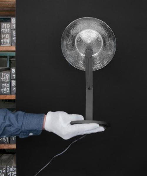 """BIG GAME"" Desk Lamp (Silver Finish)"