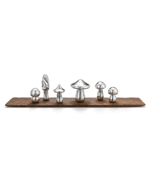 """Mushroom"" Rectangular Centerpiece by Wolfgang Joop"
