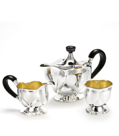 """""""Bud"""" Tea Service by Otto Prutscher"""
