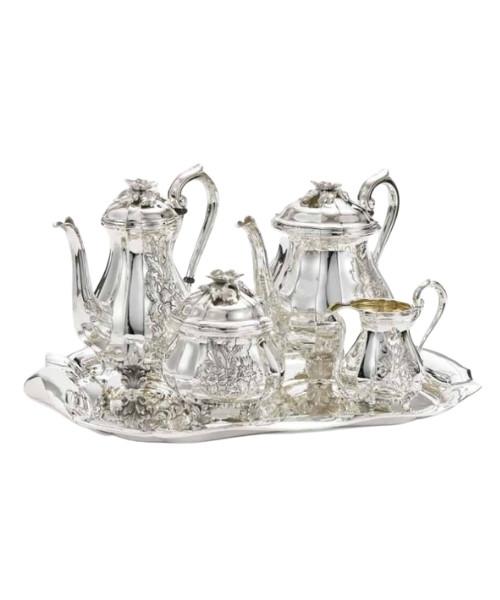 Classic (Engraved) Tea Service