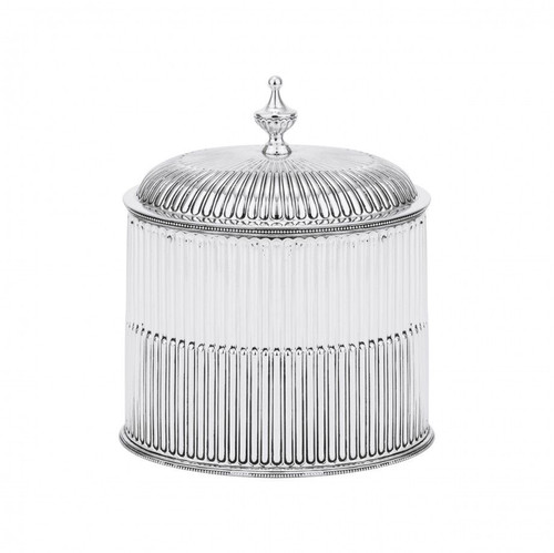 Oval Covered Cache Box