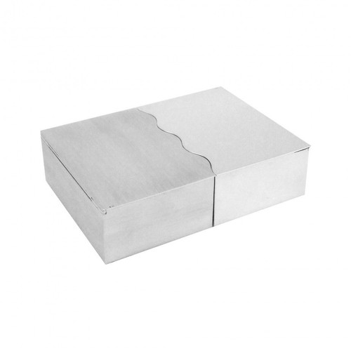 """Wave"" Sterling Silver Box"