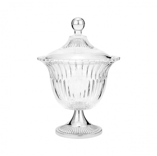 Round Urn with Lid