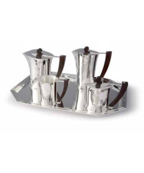 Art Deco Tea Service Collection (Plain and Chased)