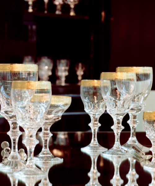 """Bernadotte"" Crystal Collection"