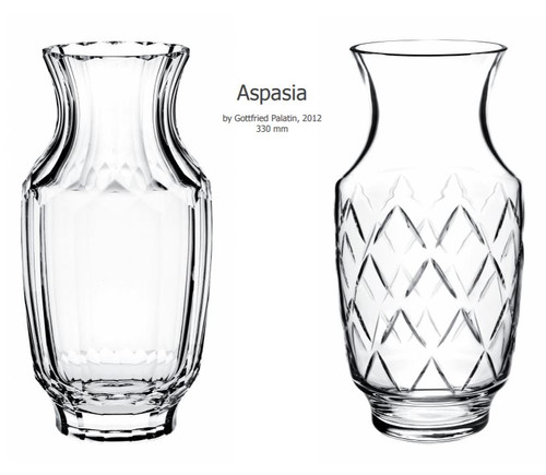 """Aspasia"" Crystal Vase Collection"