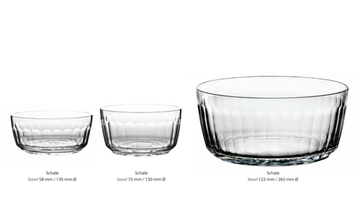 """Otto"" Crystal Bowl Collection"
