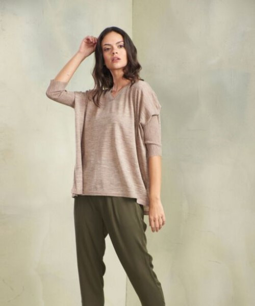 V-Neck Lounge Sweater