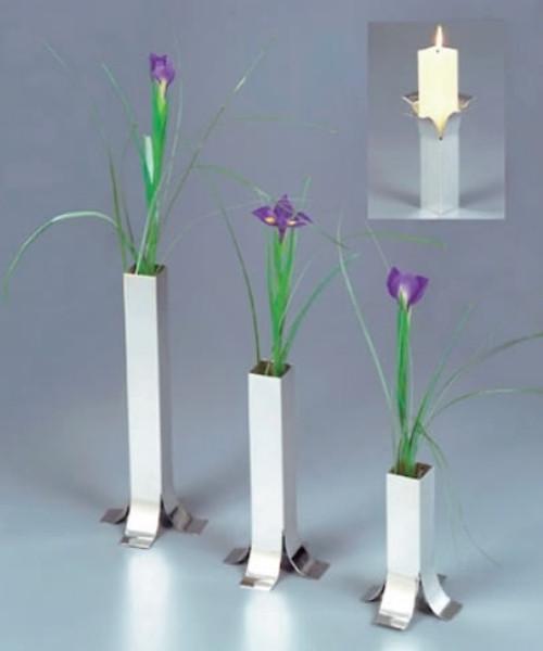 Square Candle Holder/Vase