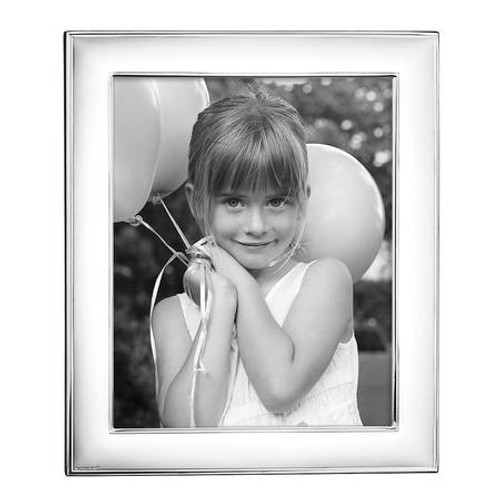 """Rounded Edge Silverplate Frame 8"""" x 10"""""""