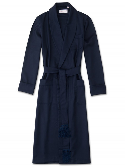 Pure Wool Solid Robe