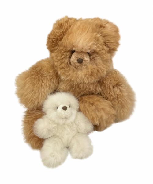 Alpaca Fur Teddy Bear Collection
