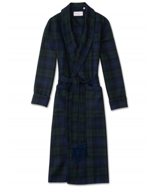 Black Watch Dressing Gown