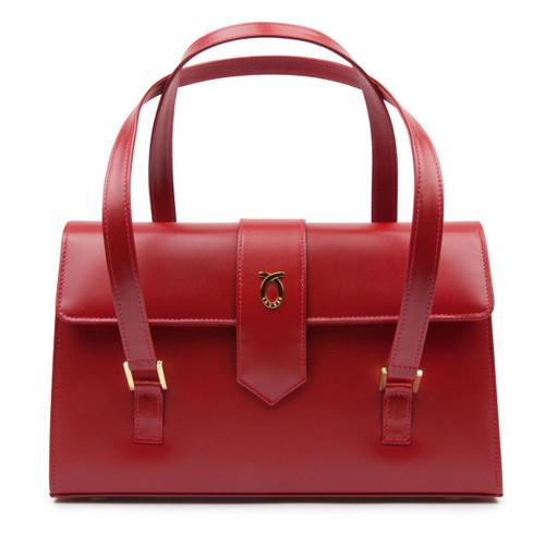 Aida Handbag, Guard Red/Red