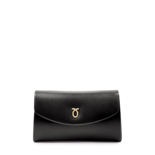 High Society Handbag, Black/Black