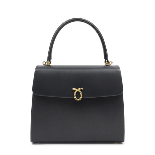 Encore Handbag, Black/Black
